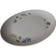 Franciscan Autumn Leaves Oval Platter