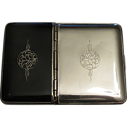 Richard Hudnut Combination Compact and Cigarette Case
