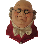 Bossons Mr Pickwick Wall Head Plaque