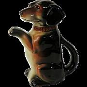 German Erphila Dachshund Dog Teapot