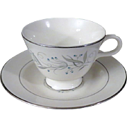 Homer Laughlin Celeste Teacup and Saucer