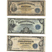 Philippines Victory Peso Treasury Certificates c.1944