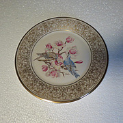 Lenox Boehm Mountain Bluebird Limited Edition Collector Plate
