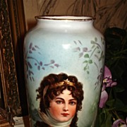 Gorgeous Rosenthal Portrait Vase Prussia Queen Louise