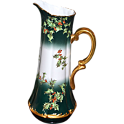 Limoges Huge Xmas Holly Berry Tankard