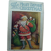 SOLD Linentex The Night Before Christmas Book Illustrated by Frances Brundage