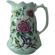 SALE James Kent Chinese Rose Milk Pitcher