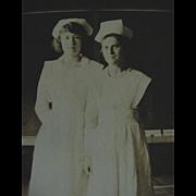 Nurse Nurses Rppc Real Photo Postcard 1918-1930