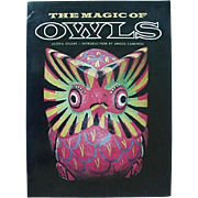 The Magic Of Owls Book By Jozefa Stuart Book About Owls 1977