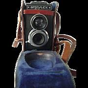 Argus Argo Flex TLR Camera With Rawhide Case