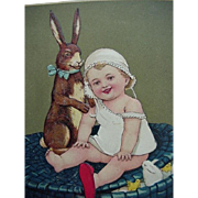Best Easter Wishes Easter Postcard Made In Germany
