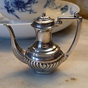 SOLD Miniature British Sterling Coffee Pot