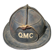 SALE Cairns & Brother Leather Fireman's Helmet