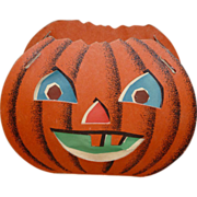 Halloween Two Faced Pumpkin Lantern