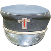 Vintage Knights Templar Silk Hat