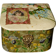 Celluloid Handkerchief Box