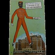 SOLD Black Americana Tennessee Postcard