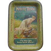 SALE White Rock Advertising Tip Tray