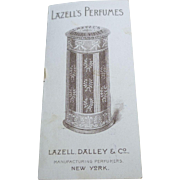 1898 Mechanical Trade Card For Lazell's Perfumes