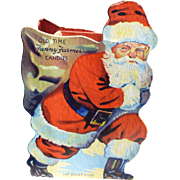 Fanny Farmer Santa Candy Container