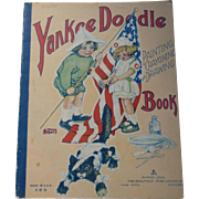 Saalfield Yankee Doodle Painting Crayoning Drawing Book