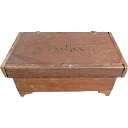 Charming Handmade Wooden Miniature Chest Personalized
