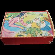 Snow White And The Seven Dwarfs Children's Picture Blocks