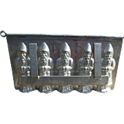 Five Santa Chocolate Mold