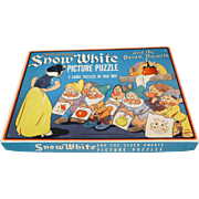 Whitman Snow White And The Seven Dwarfs Picture Puzzles