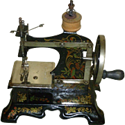 Lovely Antique Child's Sewing Machine Made In Germany