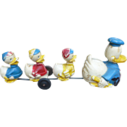 Marx Donald And His Nephews Wind Up Toy