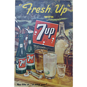 7UP Advertising Sign
