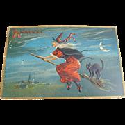 Tuck's Halloween Postcard