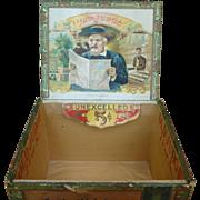 Old Judge Cigar Box