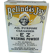 Black Americana Belinda's Joy Washing Powder Box
