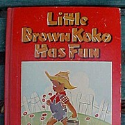 Little Brown Koko Has Fun Black Americana Children's Book