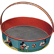 REDUCED Early Disney Mickey Mouse Sand Sifter