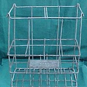 Esso Extra Oil Bottle Advertising Rack Carrier