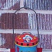 Ohio Art Roy Rogers Tin Litho Barn Lantern