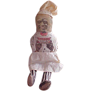 Black Americana Cream Of Wheat Cloth Doll