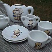 Kewpie China Child's Tea Set Made In Japan