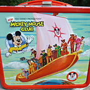 SALE Mickey Mouse Club Aladdin Lunch Box