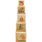 Sweet Children's ABC Stacking Blocks