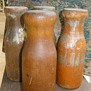 Wooden Carnival Knockdown Milk Bottles