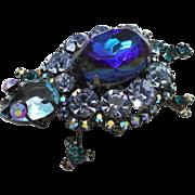 Juliana DeLizza & Elster Blue Gunmetal Turtle