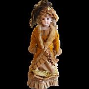"SOLD 1984 Lynda Marx Wonderful 18"" Portrait Jumeau vintage collectible Doll"