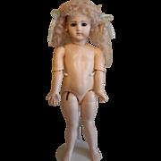 """SOLD Gorgeous 16""""Portrait Jumeau vintage Child Doll"""
