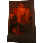 Hold To The Light 1904 St Louis World's Fair Entrance Palace of Liberal Arts Patriotic Vintage