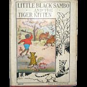 1935  Platt & Monk Little Black Sambo & the Tiger Kitten