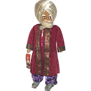 Fine and Scarce 18 Inch 1940 Molly-'es Astrologist Cloth Character from Thief of Baghdad Serie